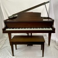 This Howard Petite grand is a sweet piano with a nice sound. If you enjoy playing and practicing, we recommend this piano.