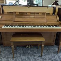The Baldwin Acrosonic is a nice spinet piano in good condition. It has years to make music and create memories.