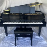 K Kawai KG-1C is great piano for players looking for powerful sound for a great value. This piano is gorgeous and ready for your hours of playing.