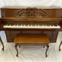 The Everett C35 console piano is in great condition for a great value.