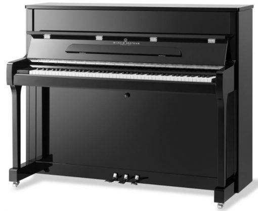 The Wilhelm Grotrian WGS 120 especially useful for piano teaching and practice. With a quality price to performance ratio, the upright is practical and enjoyable.